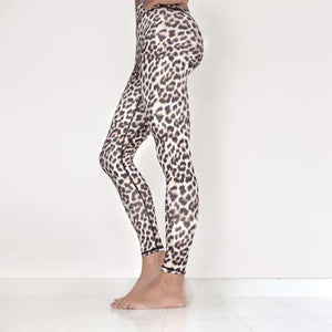 Leoparden Leggings Leggings