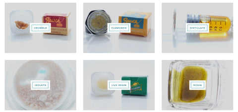 CBD Concentrates come in many different forms. Some saucy, some crumbly. Some full spectrum, some broad spectrum. Find out all you need to know at Sauce Warehouse