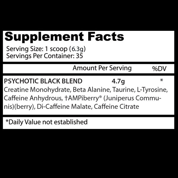 Psychotic Black | Insane Labz