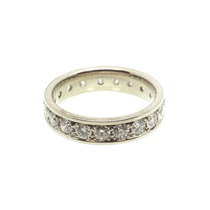 ADELAIDE: White Gold Diamond Eternity Band