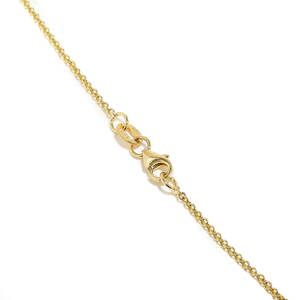 DUSK: YELLOW GOLD KITE CUT SALT AND PEPPER DIAMOND NECKLACE