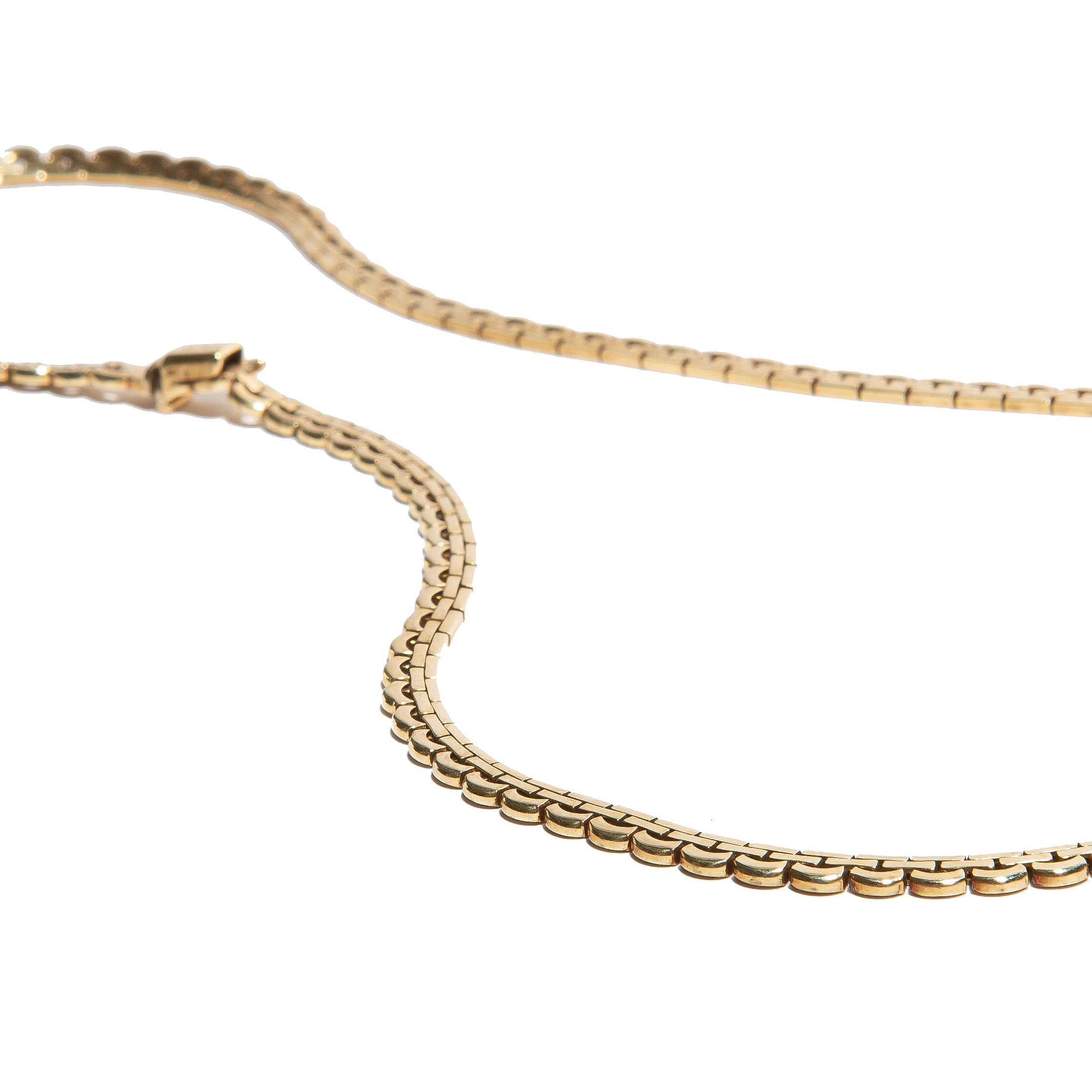 ROYALTY: Vintage Italian Yellow Gold Chain