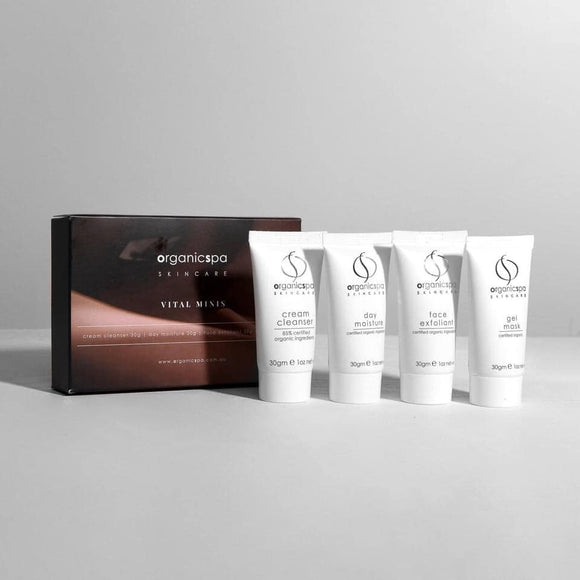 Organicspa skincare value packs