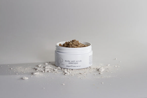 Organicspa body salt scrub