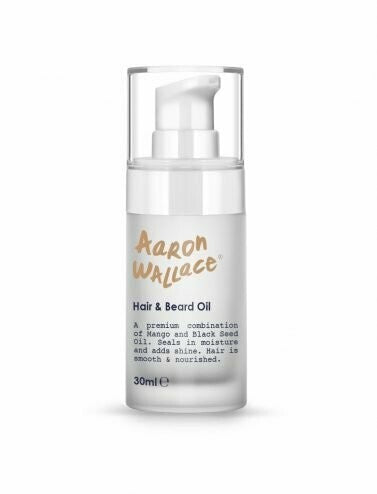 Aaron Wallace: Hair & Beard Oil