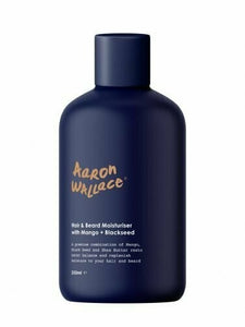 Aaron Wallace: Hair & Beard Moisturiser With Mango Butter + Blackseed Oil