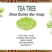 Load image into Gallery viewer, Lulu's - Tea tree Bar Soap