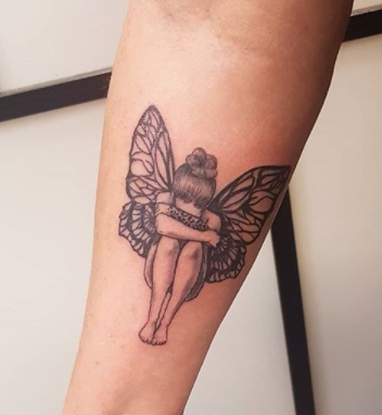 The Crying Fairy Tattoo