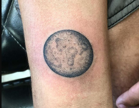 planet tattoo design