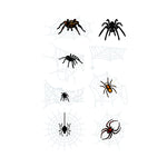 3D waterproof spider Tattoo Sticker-10