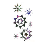 Hexameron Pentagram Stickers