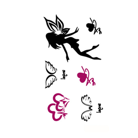 Fairy Silhouette Stickers