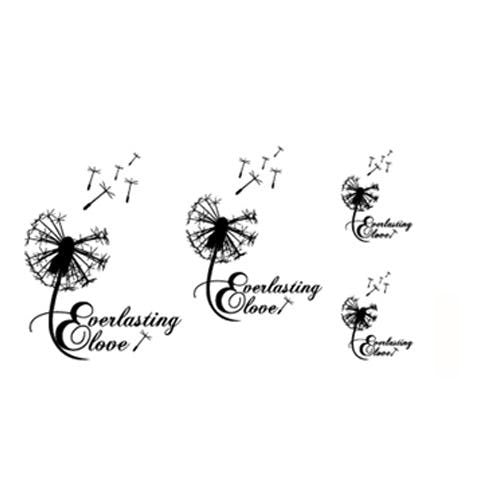 Dandelion Tattoo Stickers