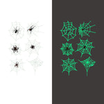 Luminous spider Temporary Tattoo Sticker-1 Glow in the dark