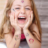 Pink Decals Tattoo Body Stickers for Girls