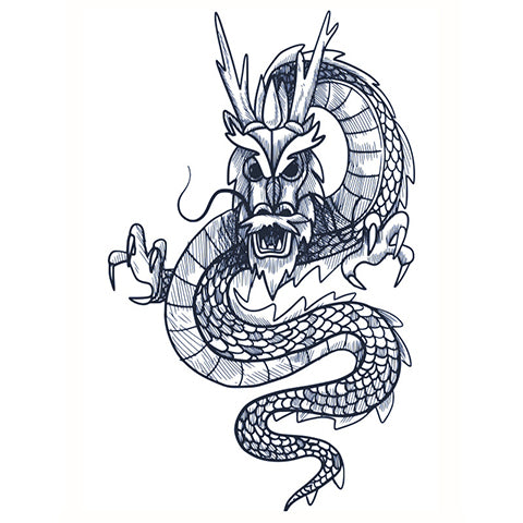 Asian Dragon (Semi-Permanent)