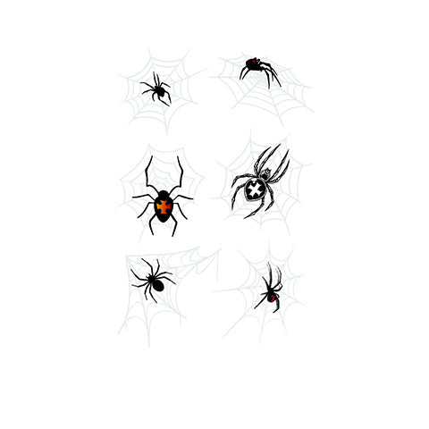 3D waterproof spider Tattoo Sticker-2