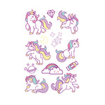 Cartoon Series Pony Tattoo for Kids