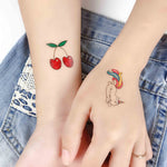 Emoji Temporary Body Tattoos Decals for Kids