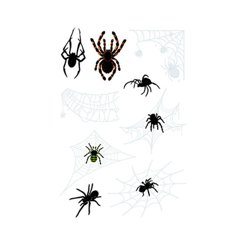 3D waterproof spider Tattoo Sticker-7