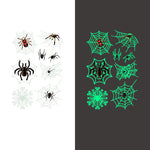 Luminous spider Temporary Tattoo Sticker-9 Glow in the dark