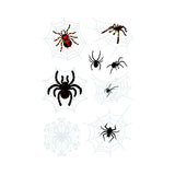 3D waterproof spider Tattoo Sticker-9