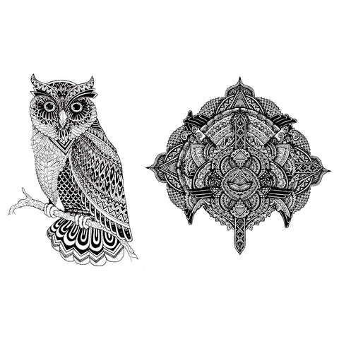 Tribal Owl and Medal