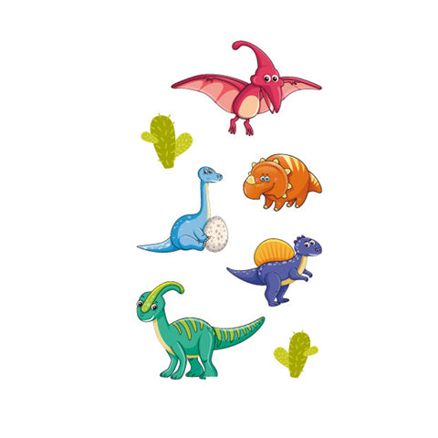 Cartoon Simple Dinosaur Stickers