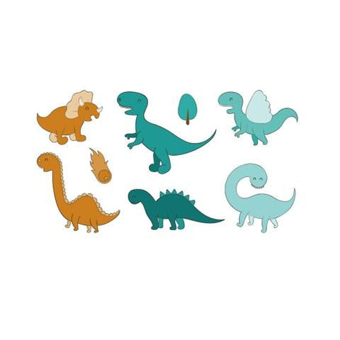 Cartoon Various Dinosaurs Stickers