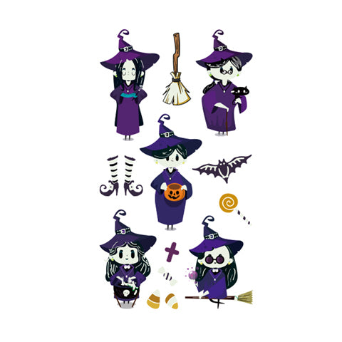 Halloween Little Witches Glow in the Dark