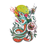 Pop Rat Snake Tattoo Sticker
