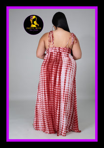 Plus Size Tye Dye Dress
