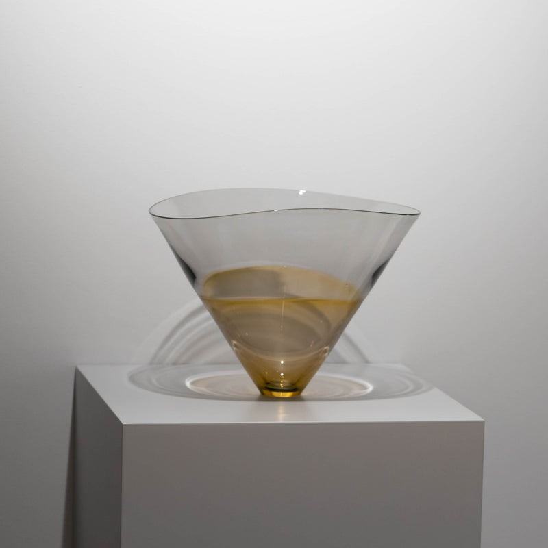 17.Amber on Gray(bowl)