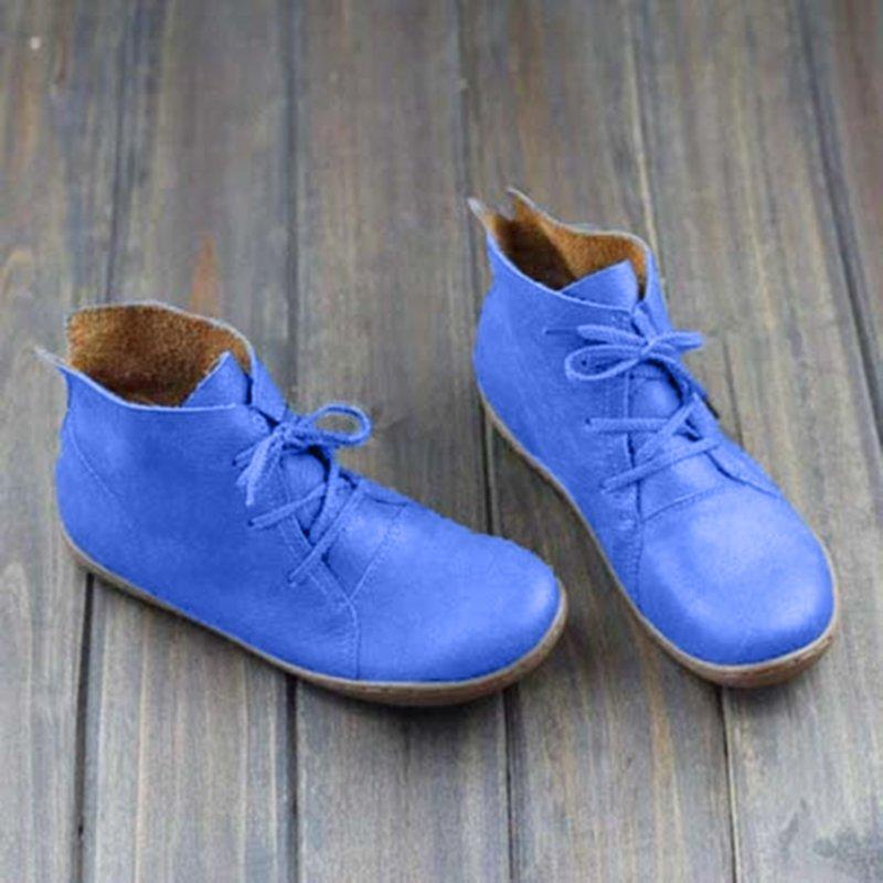 Lace-up Soft Casual Loafers