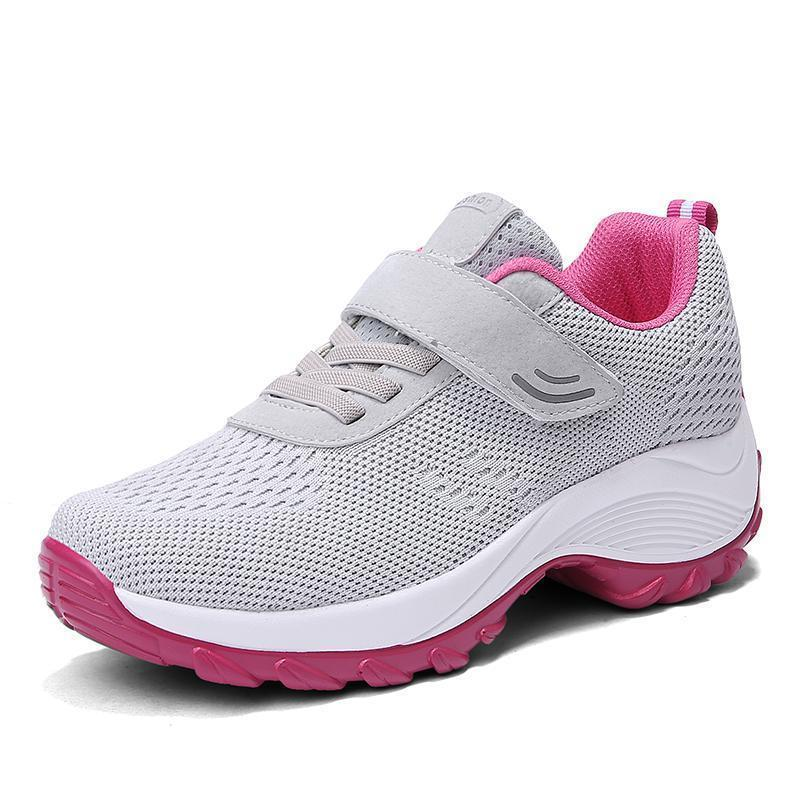 Women's Summer Comfortable Woven Knit Casual Sneakers