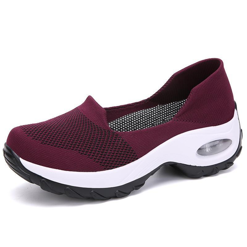 Womens Slip on Sneaker Comfortable Walking Shoe