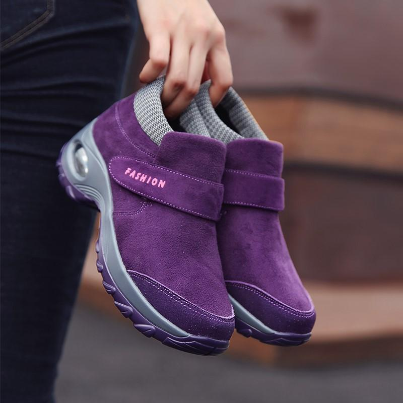 Women's cushion non-slip breathable comfortable boots