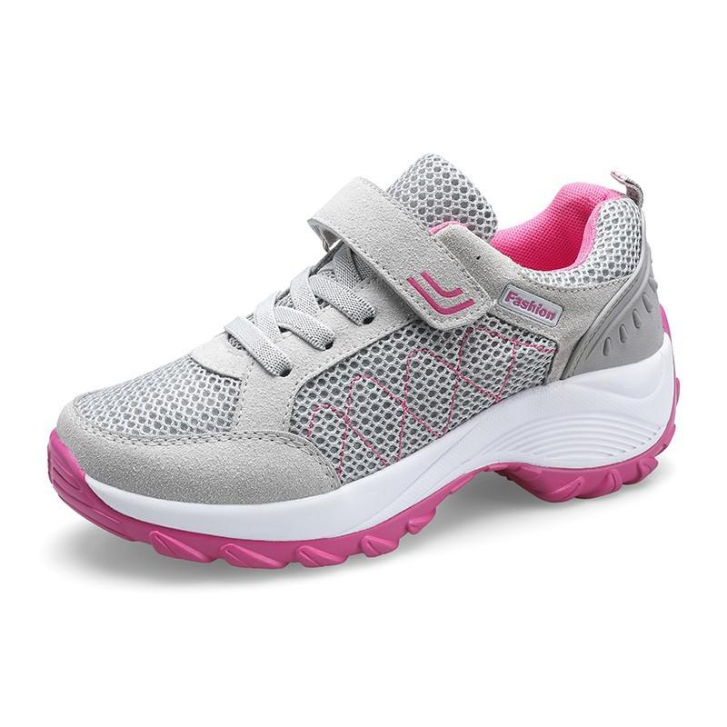 Women's outdoor sporty breathable hiking sneakers