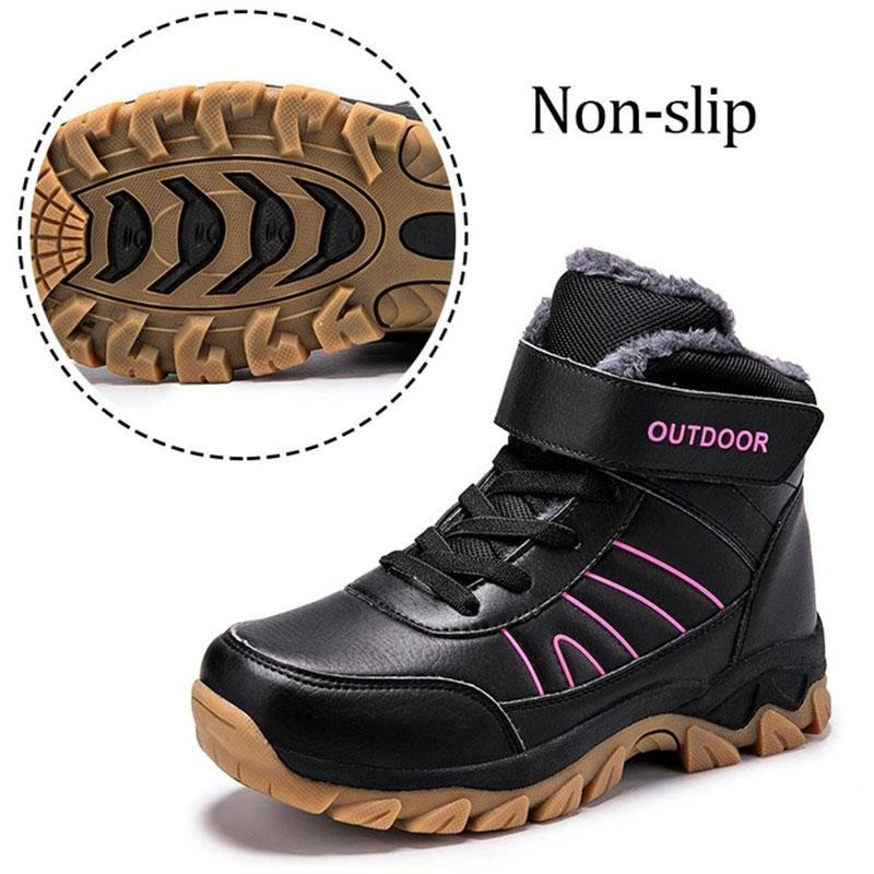 Women's Outdoor Thermal Velcro Non Slip Hiking Boots