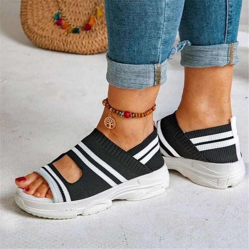 Women Thick Bottom One Pedal Sneakers