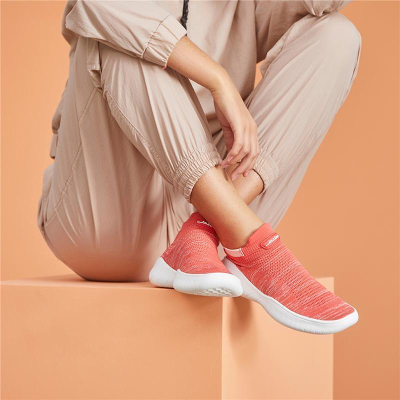 Women's Breathable Walking Sock Shoes Lightweight Knit Sneakers for Jogging