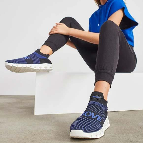 Women's Lightweight Breathable Sneakers Fashion Walking Sock Shoes