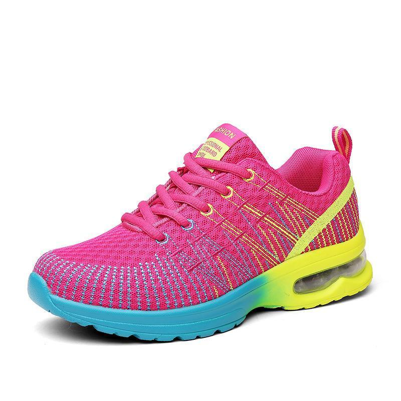 Women's Colorblock Soft And Comfortable Walking Sneakers