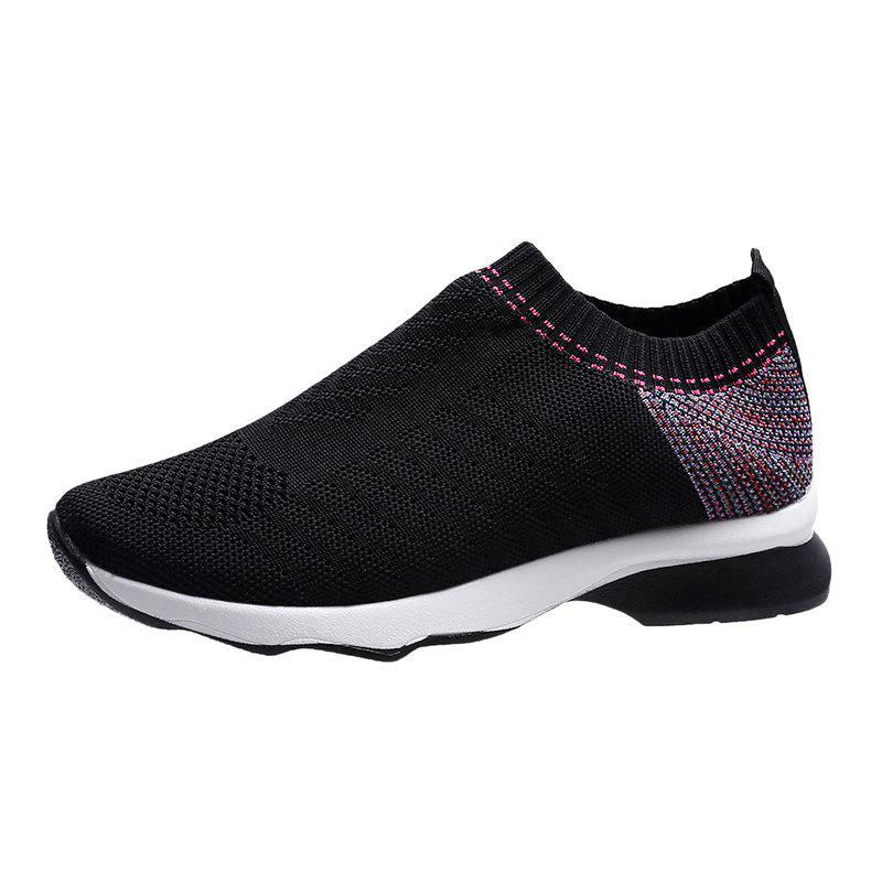Women's Lightweight Stretch Casual Socks Flying Knit Sneakers