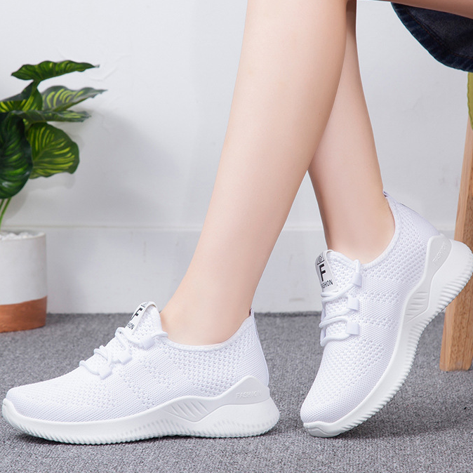 Women's Soft Lightweight And Breathable Flying Woven Sneakers