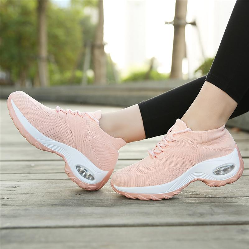 Women's Walking Shoes Elastic Sock Sneakers