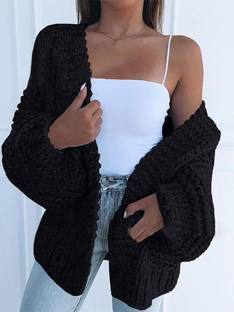 Women's Fashion Casual Pendant Sleeves Cardigan Jacket