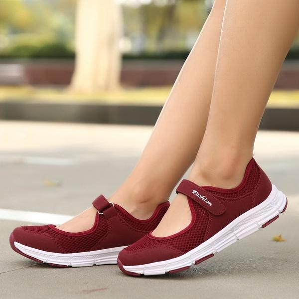 Summer Breathable Women Sneakers Light and comfortable Running Shoes