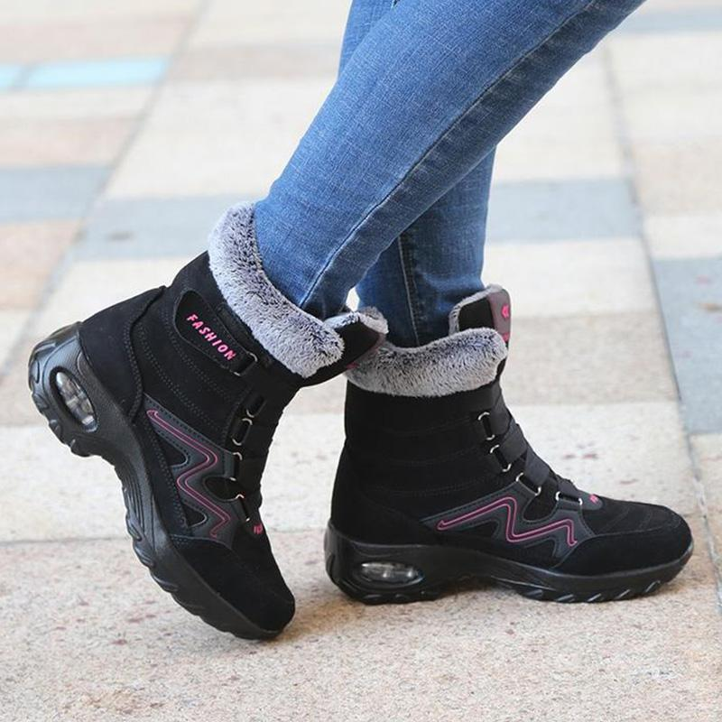 Women's Plush Anti Skid Suede Boots