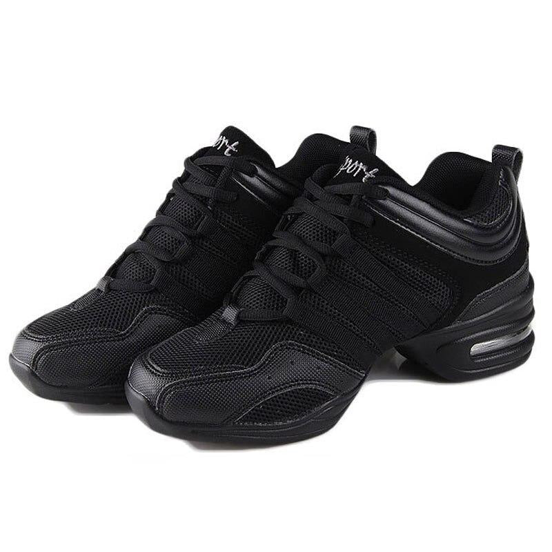 Women's Jazz Dance Sneakers Lightweight Breathable Woman Dancing Shoes